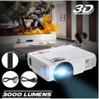 1080P Full HD 3D LED Projector Home Multimedia Cinema Theater