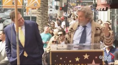 'The Dude' helps John Goodman celebrate star on Hollywood Walk of Fame